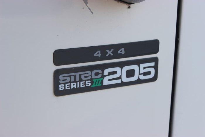 2008 ISUZU FSS550 WHITE