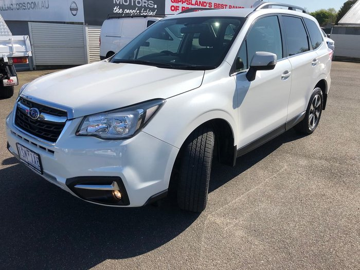 2017 Subaru Forester 2.0D-L S4 MY17 Four Wheel Drive White