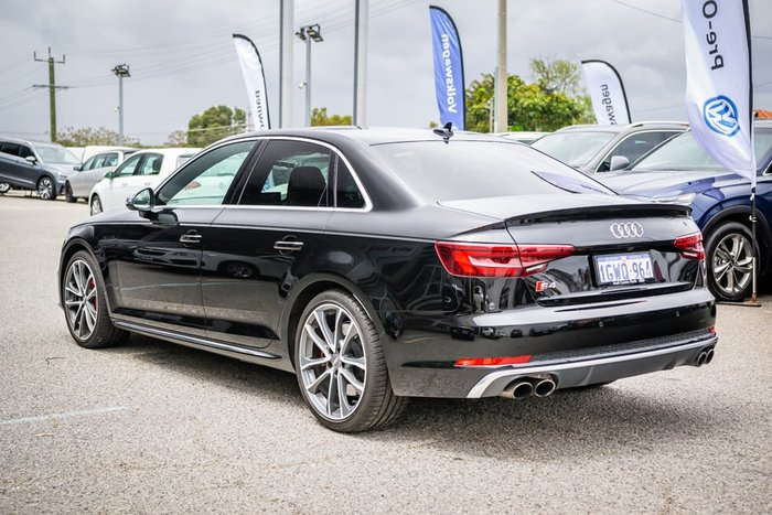 2019 Audi S4 B9 MY19 Four Wheel Drive Black
