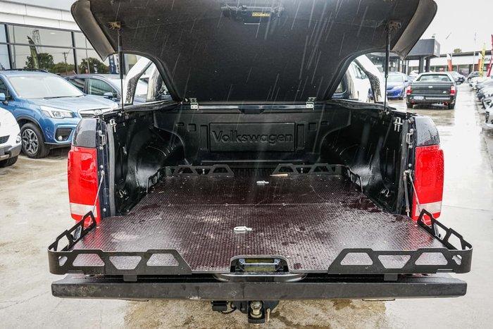 2016 Volkswagen Amarok TDI400 Core 2H MY17 4X4 Dual Range Black