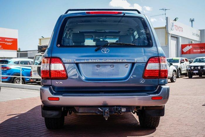 2007 Toyota Landcruiser VX UZJ100R 4X4 Constant Blue