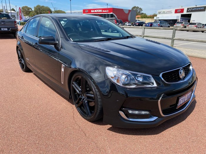 2015 Holden Commodore SS VF Series II MY16 Black