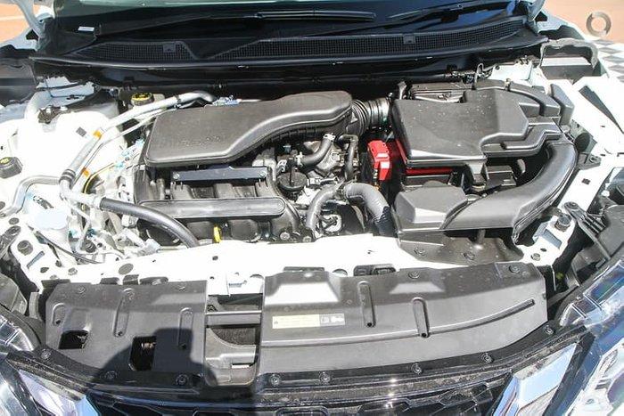 2020 Nissan QASHQAI ST+ J11 Series 3 MY20 Ivory Pearl