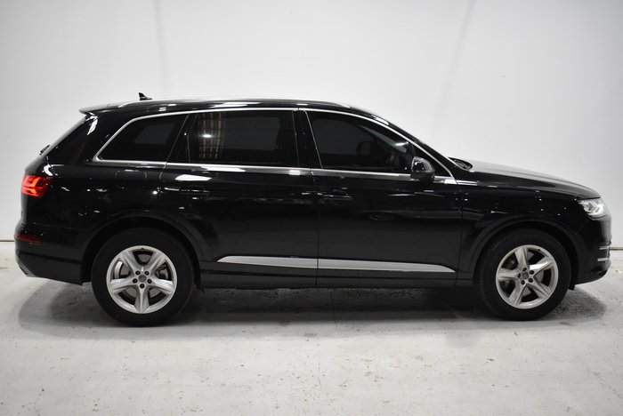 2017 Audi Q7 TDI 4M MY18 Four Wheel Drive Black
