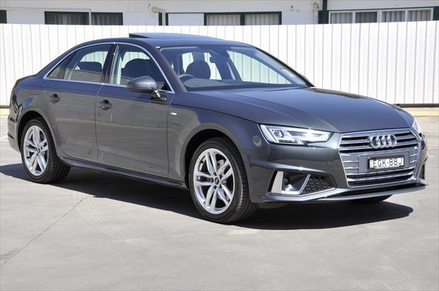 2019 Audi A4 40 TFSI B9 MY19 Manhattan grey