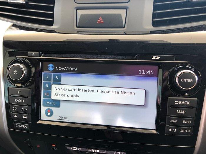 2020 Nissan Navara ST-X D23 Series 4 4X4 Dual Range White
