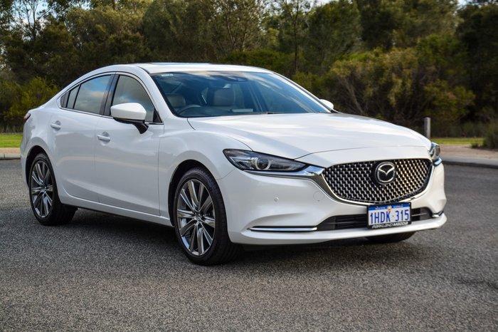 2020 Mazda 6 Atenza GL Series White