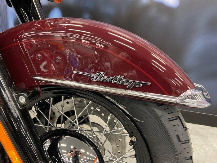 2020 Harley-davidson FLHCS HERITAGE CLASSIC 114 Billiard Burgundy