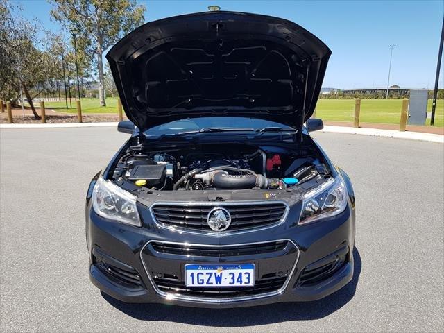 2013 Holden Ute SS VF MY14 BLACK