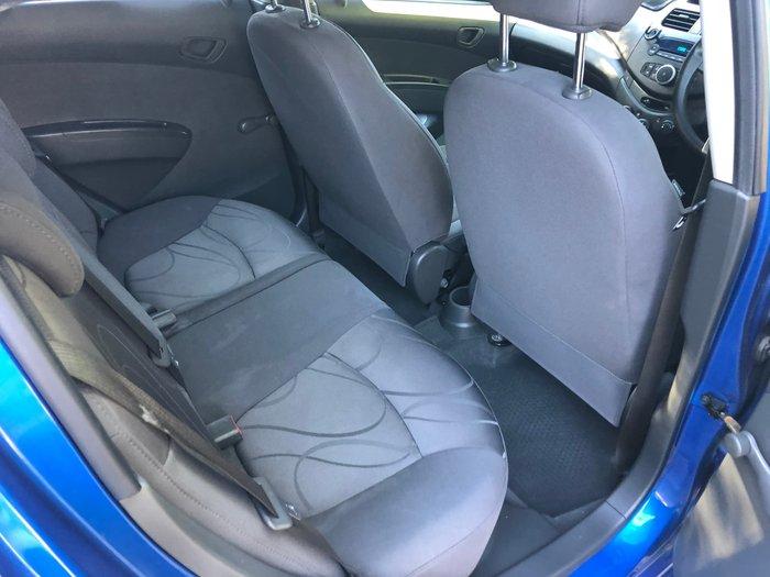 2010 Holden Barina Spark CD MJ MY11 Blue