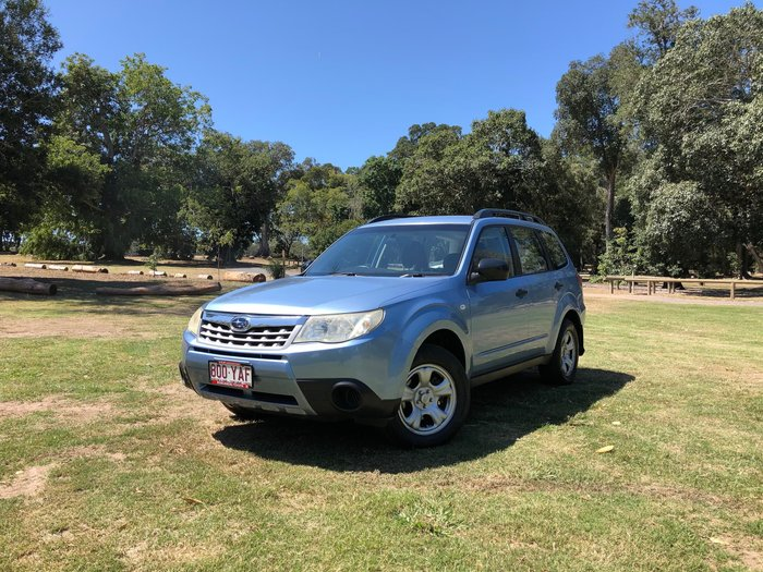 2011 Subaru Forester X S3 MY11 Four Wheel Drive Blue