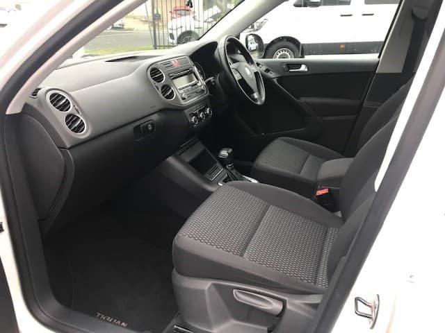 2009 Volkswagen Tiguan 103TDI 5N MY10 Four Wheel Drive White