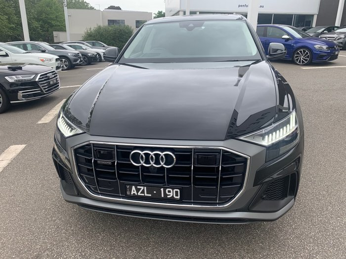 2018 Audi Q8 55 TFSI 4M MY19 Four Wheel Drive Black