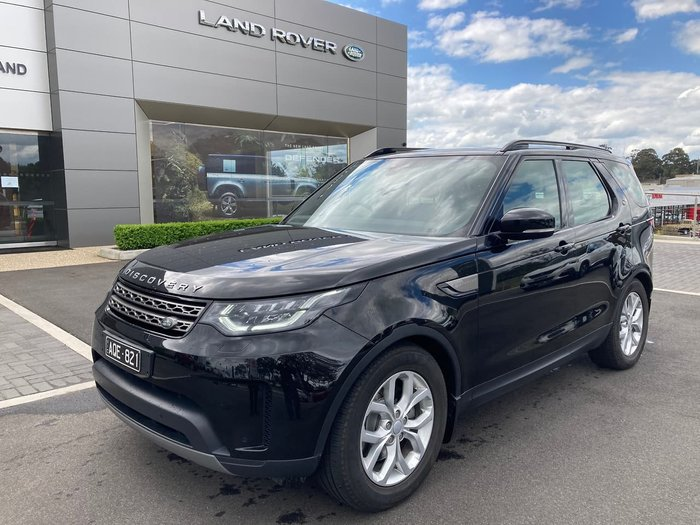 2017 Land Rover Discovery SD4 SE Series 5 MY17 4X4 Dual Range Black