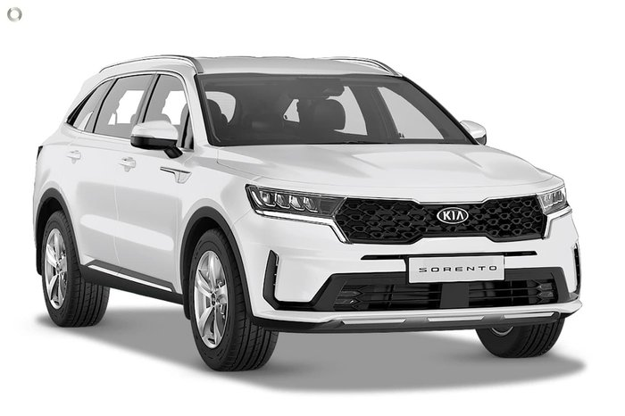 2020 Kia Sorento S MQ4 MY21 4X4 On Demand White
