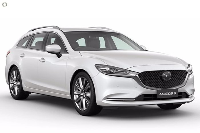 2020 Mazda 6 GT GL Series White