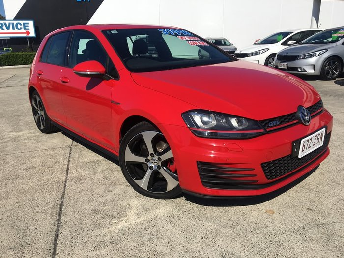2015 Volkswagen Golf GTI 7 MY16 Red