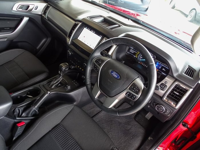 2019 Ford Ranger XLT PX MkIII MY19.75 4X4 Dual Range Red