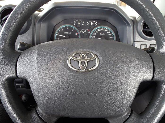 2017 Toyota Landcruiser Workmate VDJ79R 4X4 Dual Range White