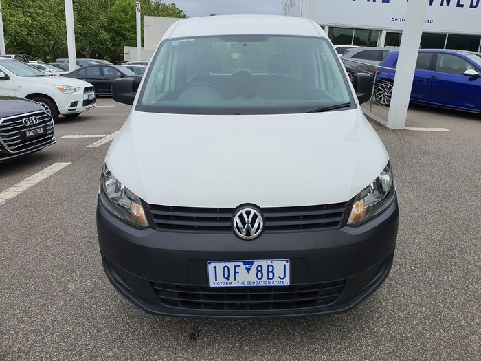 2014 Volkswagen Caddy TDI250 BlueMOTION 2KN MY15 White