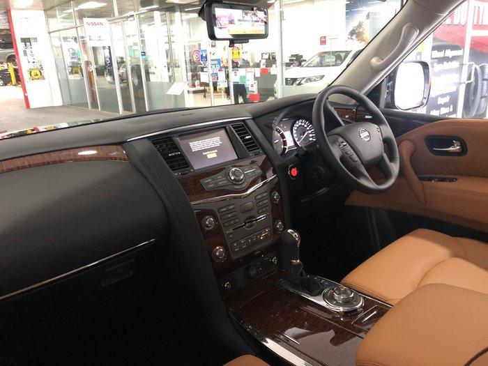 2020 Nissan Patrol Ti-L Y62 Series 5 MY20 4X4 Dual Range Black