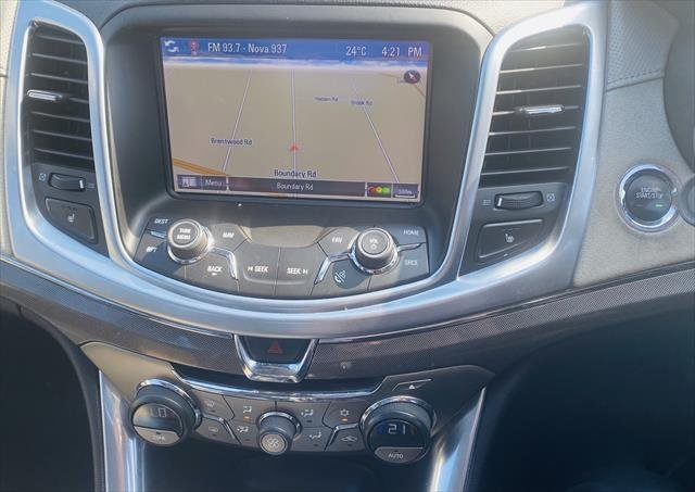 2014 Holden Caprice V WN MY15 Silver
