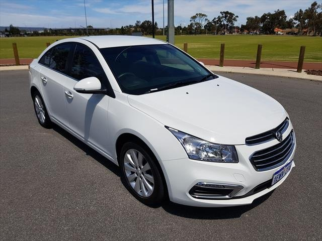 2015 Holden Cruze CDX JH Series II MY15 WHITE