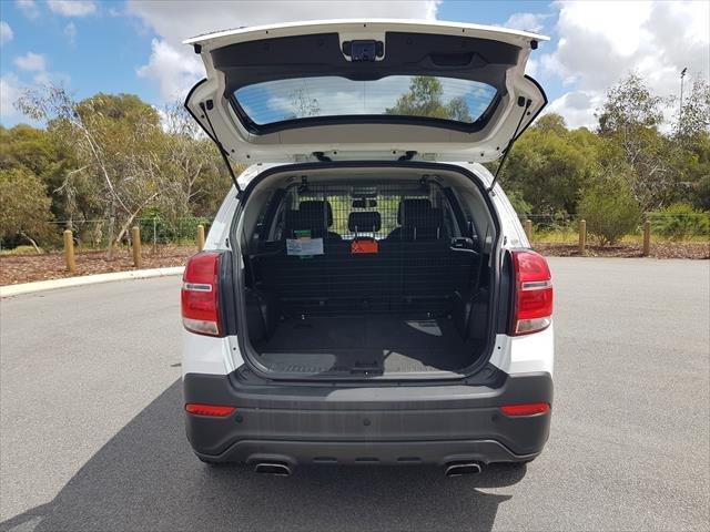 2015 Holden Captiva LS CG MY16 WHITE