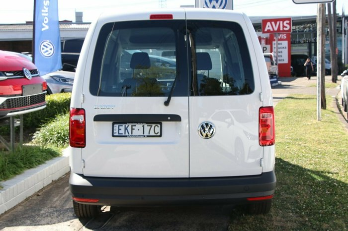 2020 Volkswagen Caddy Maxi Van Urban Ed TSI220 1.4L 92kW 7Spd DSG Candy White