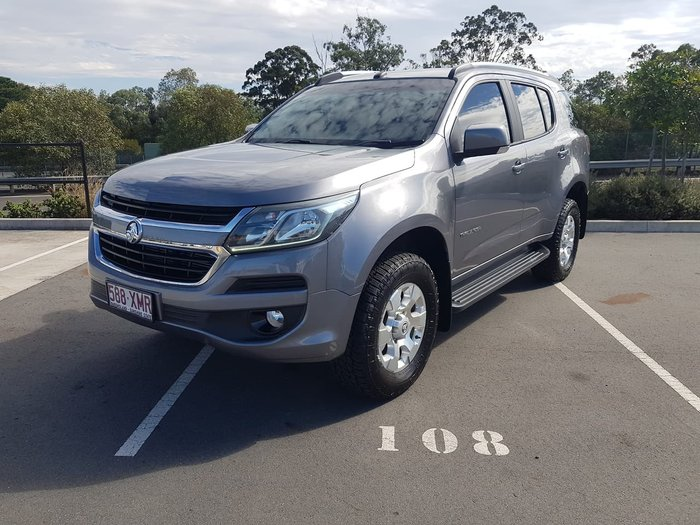 2017 Holden Trailblazer LT RG MY17 4X4 Dual Range Grey