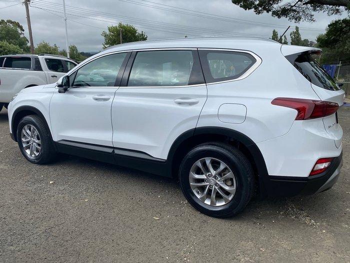2018 Hyundai Santa Fe Active DM5 Series II MY18 4X4 On Demand White