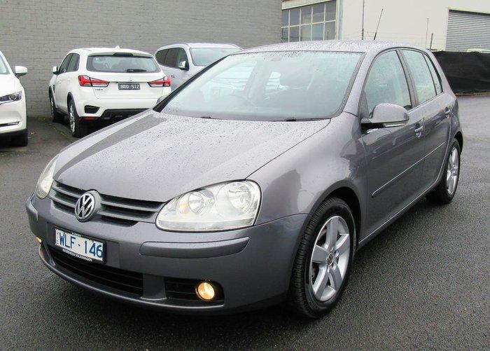 2008 Volkswagen Golf Pacific V MY08 Grey