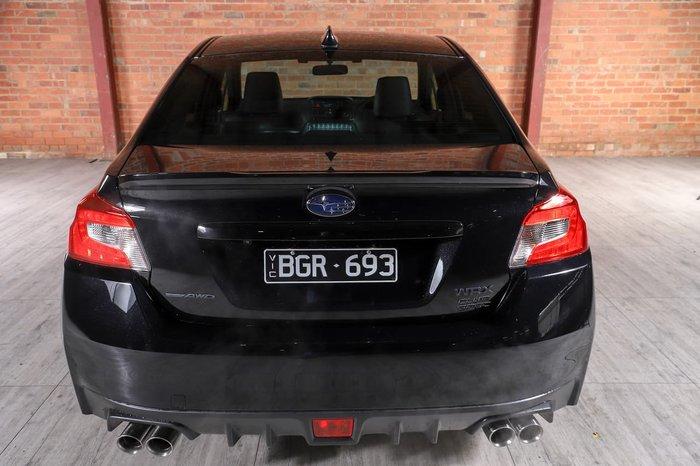 2020 Subaru WRX Club Spec V1 MY20 Four Wheel Drive Black