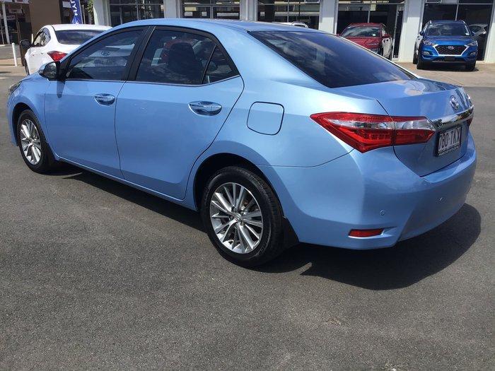 2014 Toyota Corolla SX ZRE172R Blue