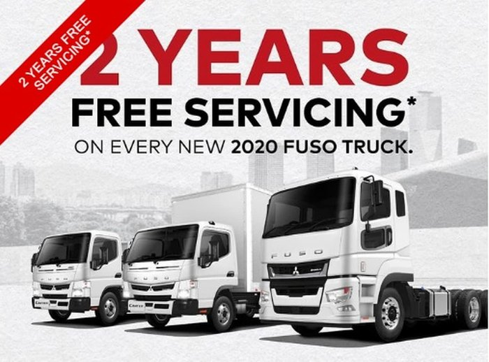 2020 FUSO CANTER 615 WIDE CAB White