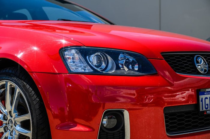 2011 Holden Commodore SS V Redline VE Series II MY12 Red