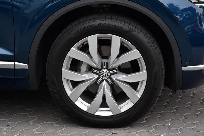 2020 Volkswagen Touareg 190TDI Premium CR MY20 Four Wheel Drive Blue