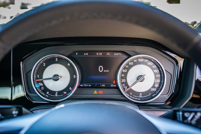 2020 Volkswagen Touareg 190TDI Adventure CR MY20 Four Wheel Drive Black