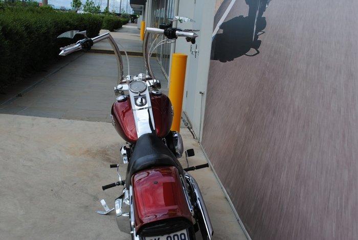 2008 HARLEY-DAVIDSON FXSTC SOFTAIL CUSTOM Red