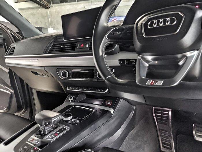 2017 Audi SQ5 FY MY18 Four Wheel Drive Grey