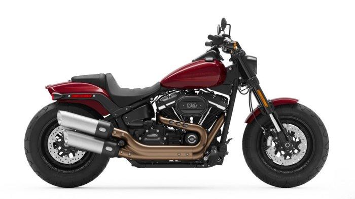2020 Harley-davidson FXFBS FAT BOB (114) BLACK