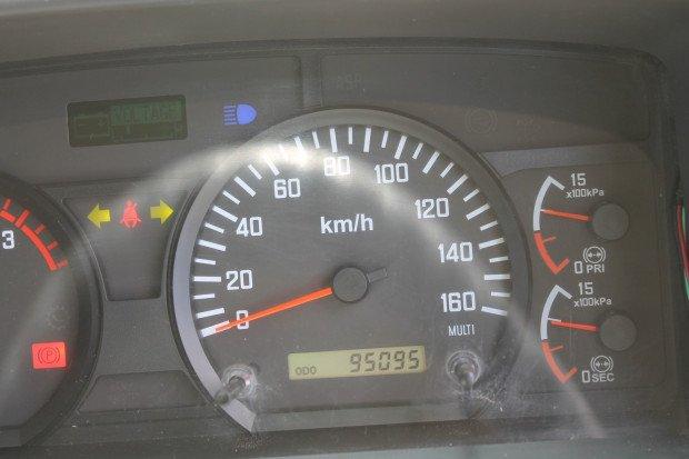 2010 Isuzu FTS800 4x4 Crew Cab LOW KMS White