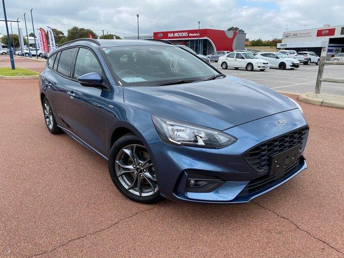 2019 Ford Focus ST-Line SA MY19.25 Blue