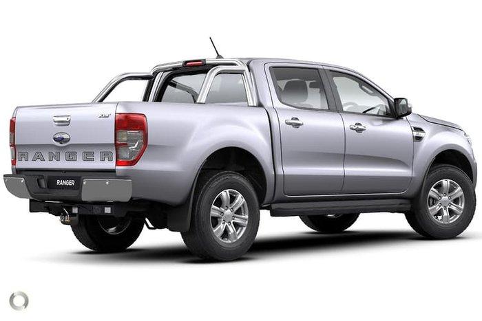 2020 Ford Ranger XLT PX MkIII MY20.75 4X4 Dual Range Silver