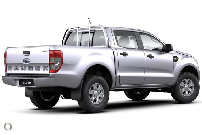 2020 Ford Ranger XLS PX MkIII MY20.75 4X4 Dual Range Silver