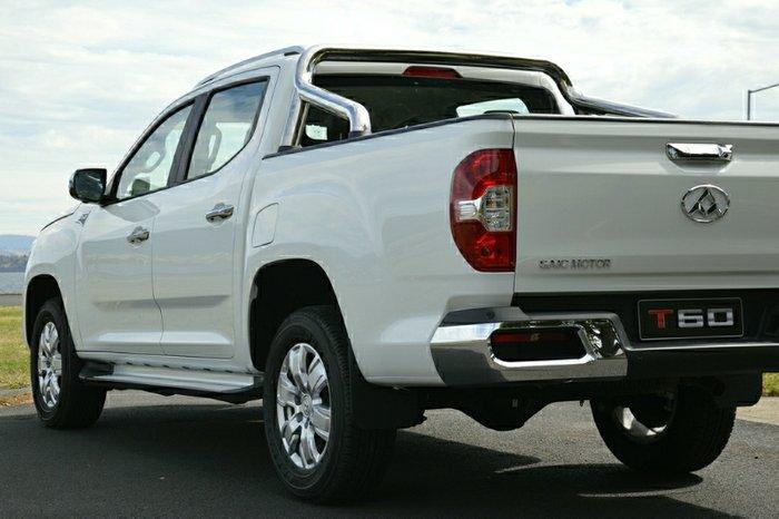 2020 LDV T60 LUXE SK8C 4X4 Dual Range BLANC WHITE