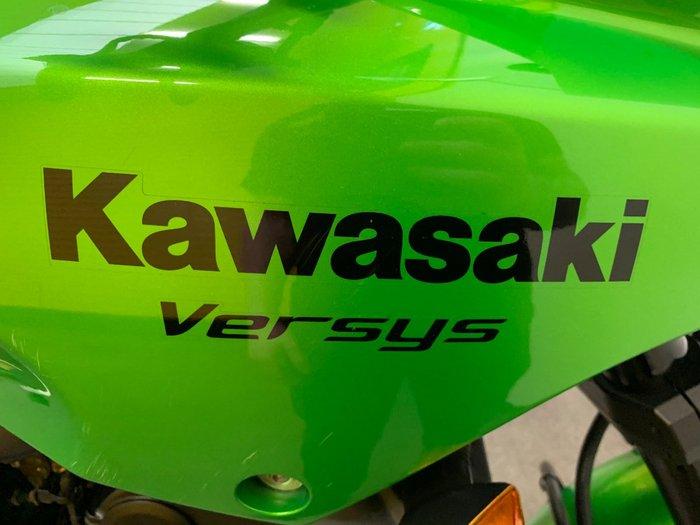 2008 Kawasaki VERSYS (KLE650) Green