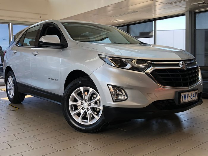 2017 Holden Equinox LS+ EQ MY18 Silver