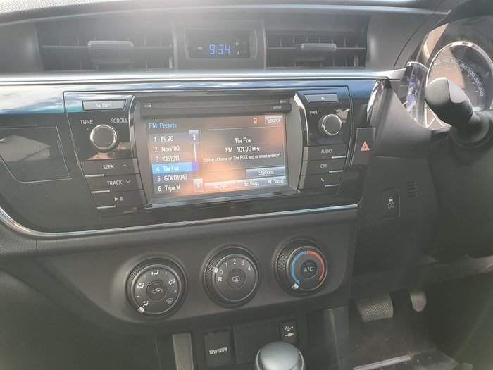 2015 Toyota Corolla Ascent ZRE172R Red