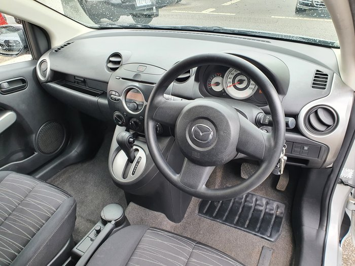 2008 Mazda 2 Neo DE Series 1 Silver
